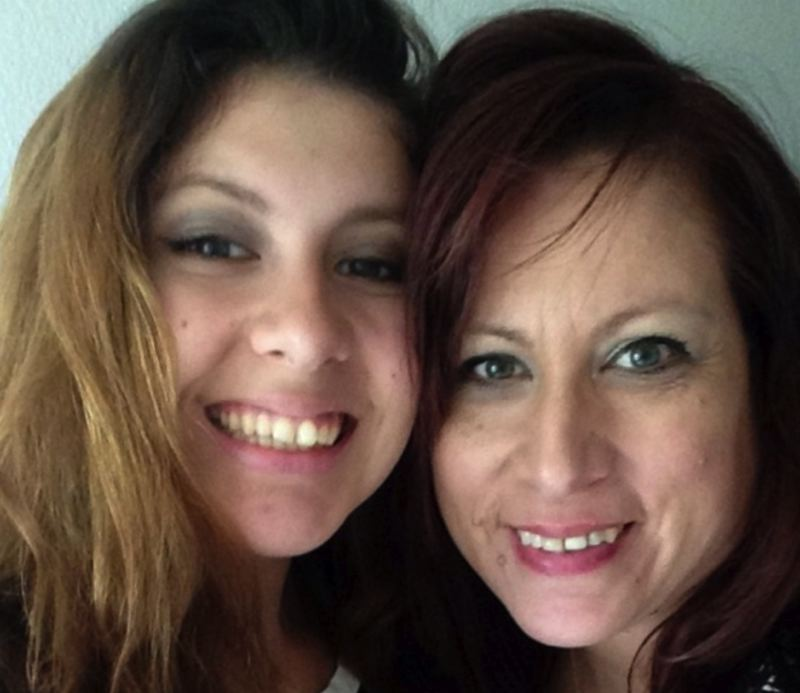 KOIN 6 NEWS PHOTO - Jasmine Garcia and her mom, Julia Valle-Galicia, in an undated photo.