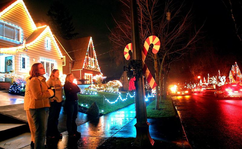 PAMPLIN MEDIA GROUP FILE PHOTO - Southeast Portland's Peacock Lane was named Nov. 3 to the National Register of Historic District. The neighborhood was nominated to the national register in mid-June.