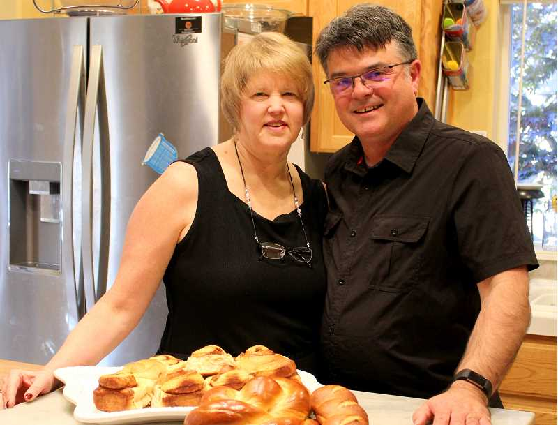 SPOKESMAN PHOTO: CLAIRE GREEN - Dana and Terry Ramsey, owners and operators of Rêver Artisan Bakery, take joy in using local ingredients and getting to know their clients face-to-face.