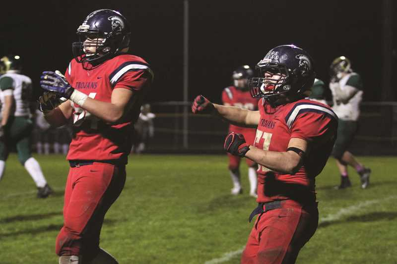 PHIL HAWKINS - The Kennedy football team has gone eight straight quarters without surrendering a point after posting back-to-back shutouts over the Regis Rams and Enterprise Outlaws.
