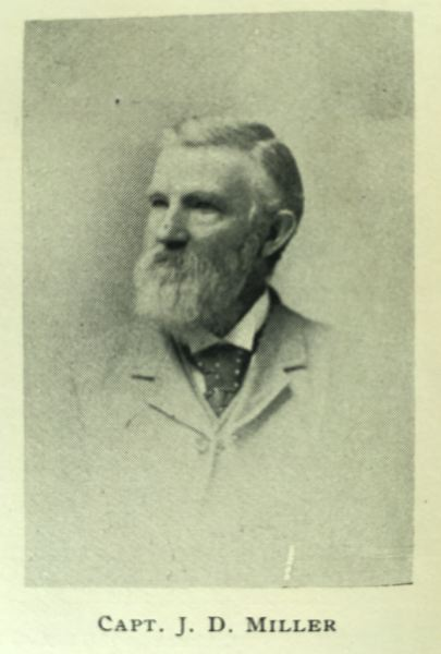 PHOTO COURTESY: LEWIS & DRYDEN - J.D. Miller: Supervised the Pacific Northwest's first paper production.