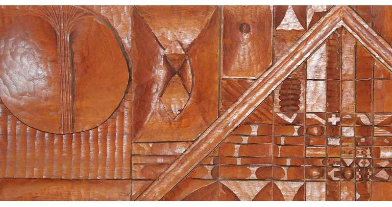 SUBMITTED PHOTO - Wood carvings from Leroy Setziol will join works from eight other artists in a show at George Fox University's Minthorne Gallery called 'About Beauty.'