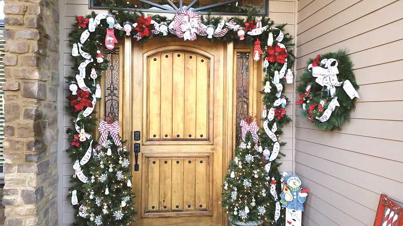 SUBMITTED PHOTO - Canby residents sure have a knack for the Christmas spirit and seem to be always outdoing themselves, year after year, with homes decorated with the Christmas spirit. See our print edition for more photos.