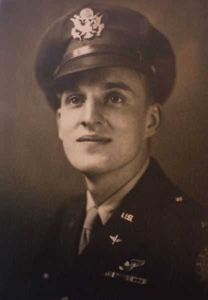 COURTESY JACK CRAMER - Jack Cramer pictured during WWII.