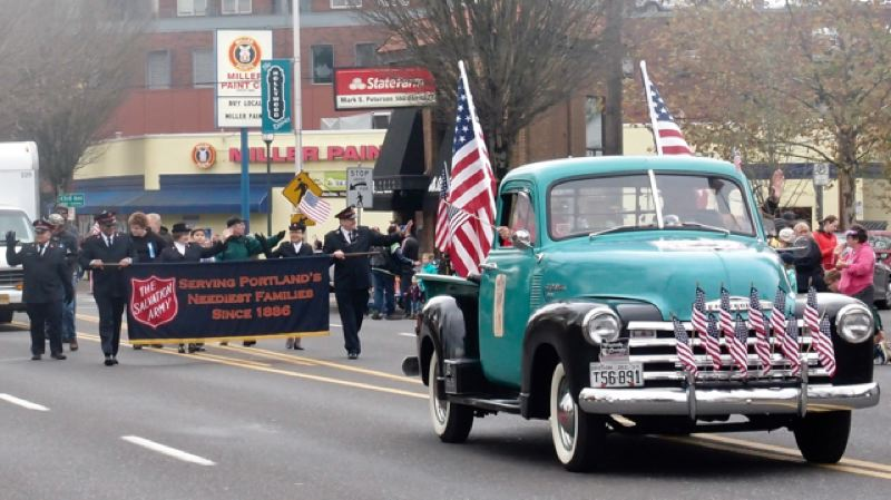 PORTLAND TRIBUNE FILE PHOTO - The annual parade will be held on Veterans Day this year.