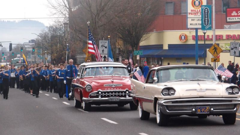 PORTLAND TRIBUNE FILE PHOTO - The 43rd annual Veterans Day Parade in the Hollywood Disrict will take place on Saturday, Nov. 11.