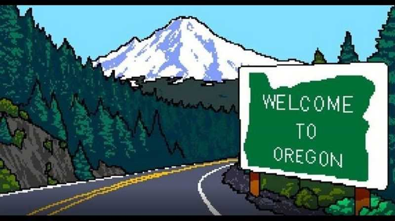 SUBMITTED IMAGE - Try to survive the Oregon Trail journey in Travel Oregon's new throwback video game.