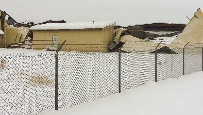 CENTRAL OREGONIAN - Heavy snowfall this past winter caused the roof at the Woodgrain Millwork facility to collapse in multiple places. County officials warn residents to remove snow from rooftops before their home or business is damaged.