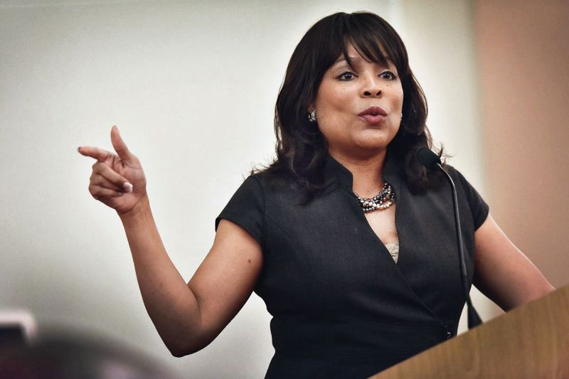 TRIBUNE FILE PHOTO - The Oregon Secretary of State has proposed fining Multnomah Commissioner Loretta Smith $250 for three election-law violations as she runs for Portland City Council.