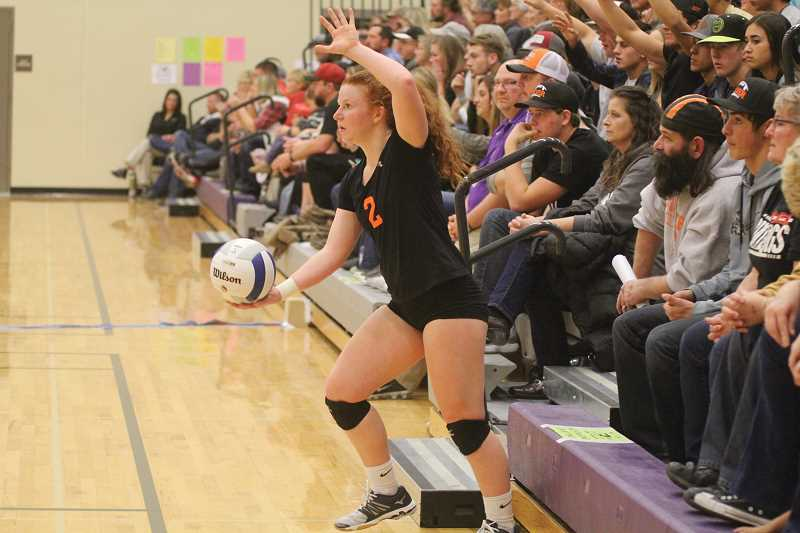 WILL DENNER/MADRAS PIONEER - Margie Beeler was named Columbia Basin Conference Player of the Year, marking the fourth straight year she made all-league first team.