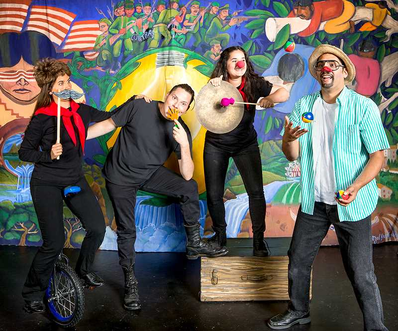 """SUBMITTED PHOTO - Teatro Milagro creates bilingual productions, such as """"El Payaso,"""" a story set among the chaos, confusion and war with Americans. The plot features a community of Nicaraguans who shared their culture, stories and lives with one American willing to listen."""