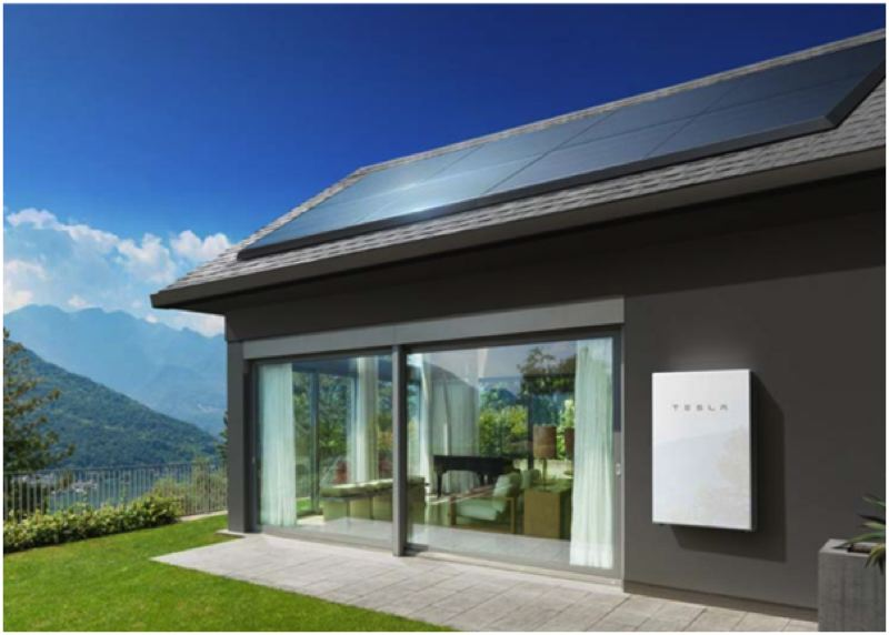 SUBMITTED: PGE - A Tesla powerwall: PGEs proposal includes a pilot residential energy storage, which would mean that PGE would install 500 battery inverter systems (BIS) at residential customers homes. Having batteries around the grid, in residents homes and in mobile electric cars, increases the systems resiliency as a whole.