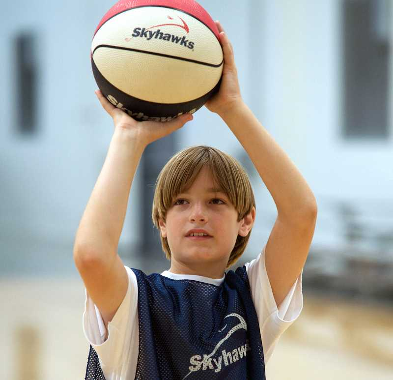 SUBMITTED PHOTO  - Skyhawks will offer basketball and multi-sport camps during winter break. Sign kids up early, as the camps will fill quickly.
