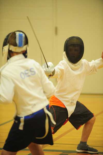 SUBMITTED PHOTO  - Learn the Olympic sport of sabre fencing over winter break through Lake Oswego Parks and Recreation.