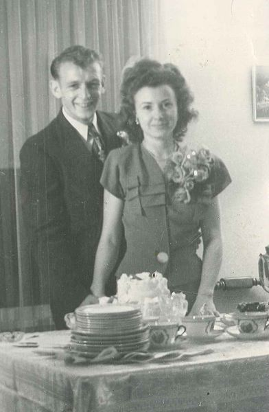 SUBMITTED PHOTO - Jack and Georgie DeLashmutt, married in 1947 and lived in St. Helens, where they raised four children, for much of their lives.
