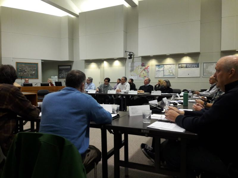 TIMES PHOTO: MARK MILLER - The Tigard Levy & Bond Advisory Task Force recommended the city pursue a levy option next year Thursday evening, with the intent of both maintaining and improving existing city services.