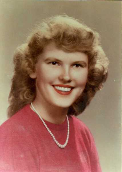 SUBMITTED PHOTO - Mary Jane Dooley (Sweeney)