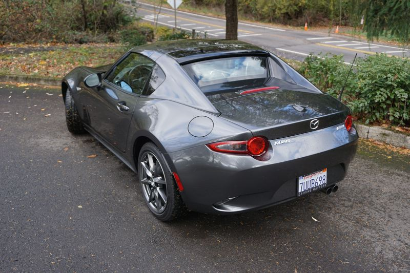 PORTLAND TRIBUNE: JEFF ZURSCHMEIDE - The 2017 Mazda Miata RF even looks great with the top up, which is not something you can say about every convertible.