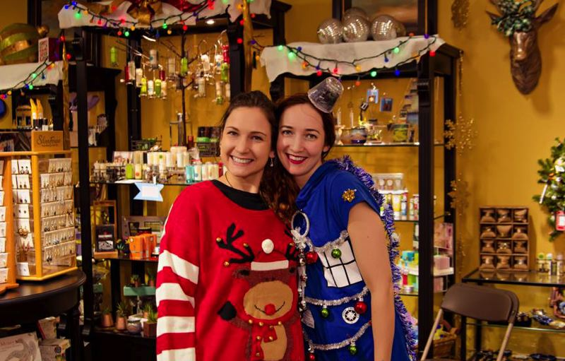 COURTESY PHOTO - Time to pull out the ugly sweaters for A Framer's Touch Ugly Sweater Party.