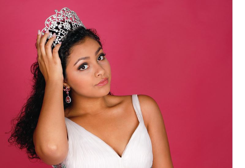 SUBMITTED PHOTO - Shayla Montgomery was named Miss National American Miss Oregon Junior Teen last August. She is competing for a national title this week in California.