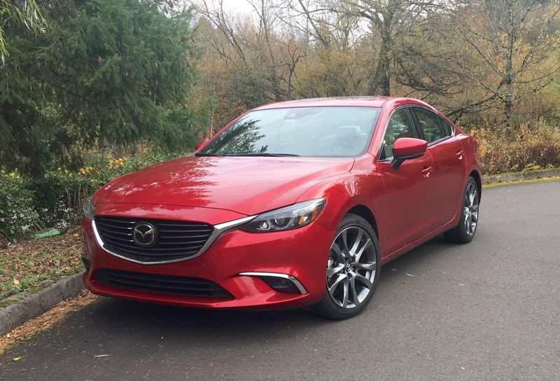 PORTLAND TRIBUNE: JEFF ZURSCHMEIDE - The 2017 Mazda6 is a stylish mid-size sedan that competes well against its better known competitors.
