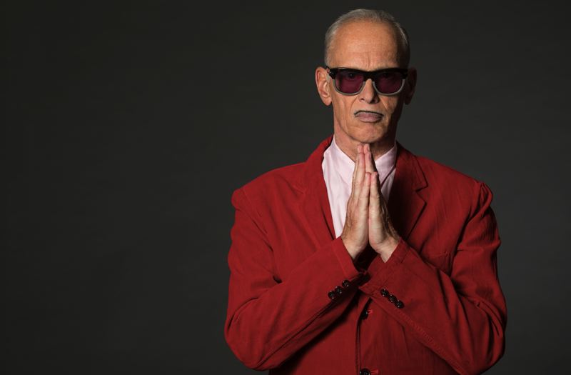 COURTESY: GREG GORMAN - John Waters will take on Christmas at the Aladdin Theater on Nov. 29. Waters is known for his many cult classic films, including 'Hairspray' and 'Pink Flamingos.""