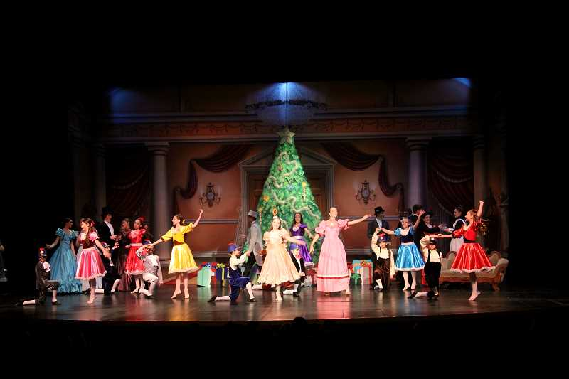 PHOTO BY OLIVE PHOTOGRAPHY - Allegro Dance Studio is presenting the Nutcracker at the Richard R. Brown Fine Arts Center on Dec. 9-10.