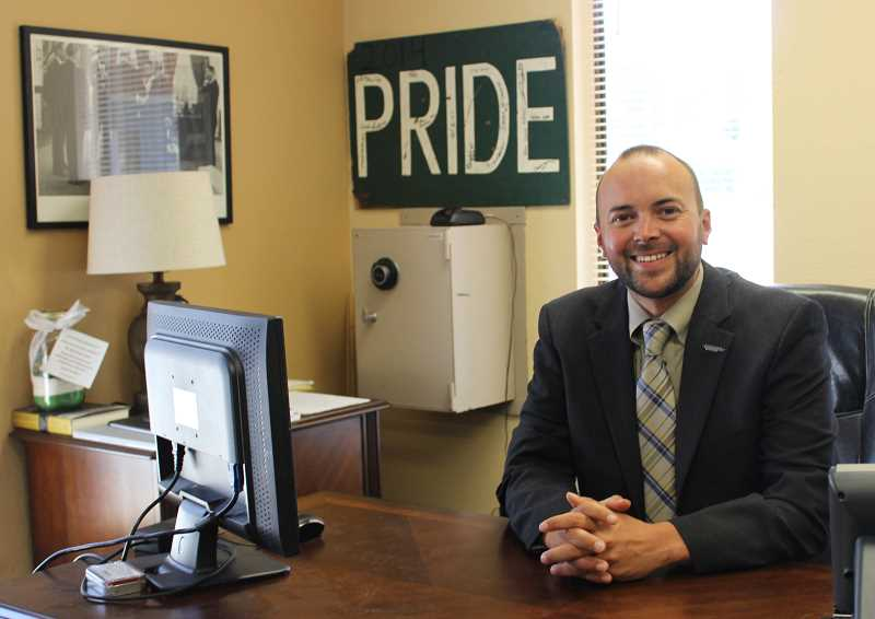 CONTRIBUTED PHOTO - Ryan Carpenter was recently hired as the Estacada School District's permanent superintendent.