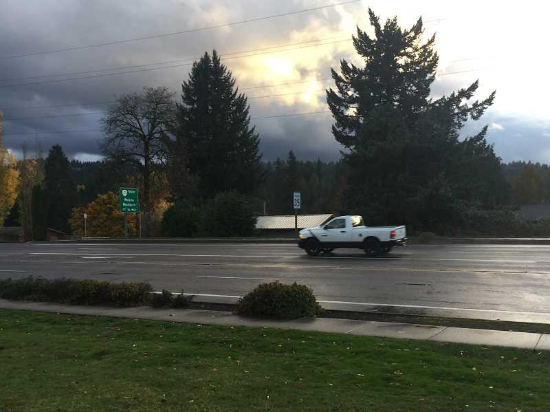 ESTACADA NEWS PHOTO: EMILY LINDSTRAND - A lane reduction is being considered for a section of Highway 224 in Estacada. Community members are encouraged to share their feedback on the potential change.