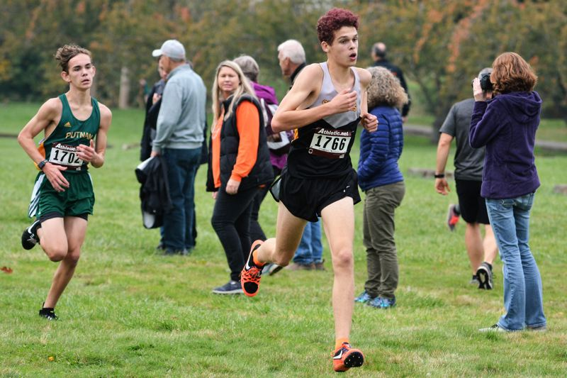 SPOTLIGHT PHOTO: JAKE MCNEAL - Cooper Montgomery is a cross country second-teamer.