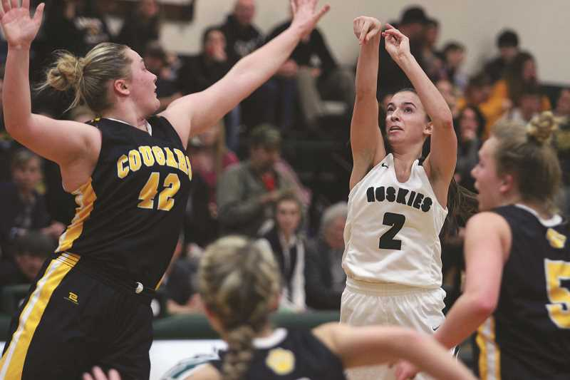 PHIL HAWKINS - North Marion all-state guard Ally Umbenhower returns for her senior season, leading a Husky squad that includes returning starters Mar Verastegui, Lindy Wing and Hannah Kinniburgh.