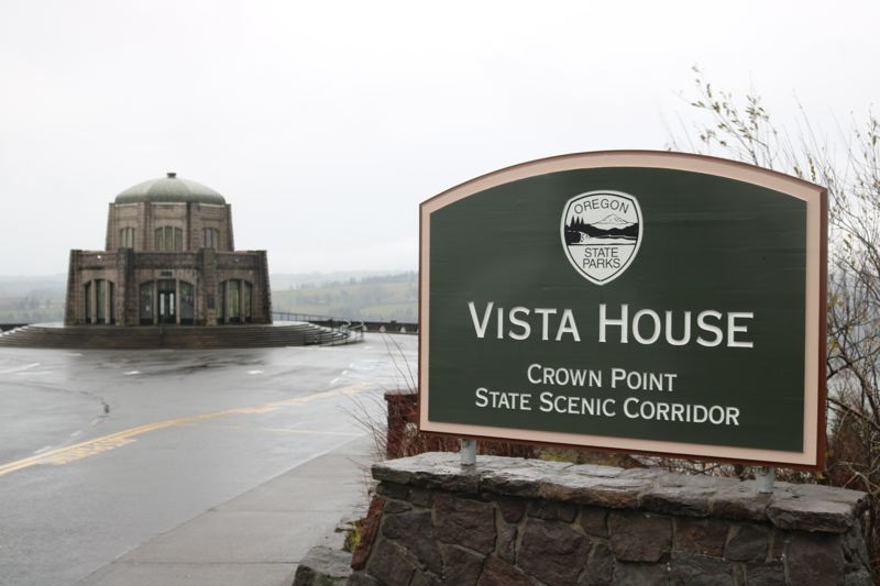 OUTLOOK PHOTO: ZANE SPARLING - Vista House has reopened to the public after an 11-week closure caused by the Eagle Creek fire.