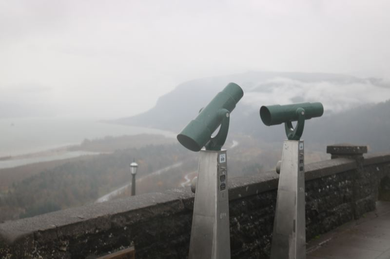 OUTLOOK PHOTO: ZANE SPARLING - Vista House is open to the public, ODOT says.