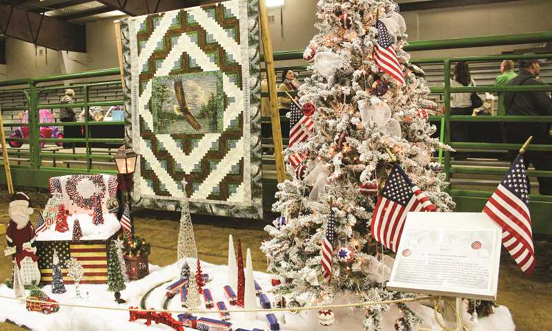 CENTRAL OREGONIAN - Numerous trees are elaborately decorated employing unique items and themes. Some trees sell for more than $1,000 with proceeds benefitting St. Charles Hospice.