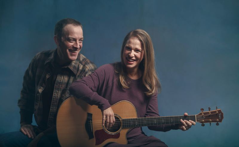 COURTESY: KATE SZROM/PCS AT ARMORY - Leif Norby stars in 'A Christmas Memory' and joins Merideth Kaye Clark on stage for her work 'Winter Song' at Portland Center Stage at the Armory, through Dec. 31.