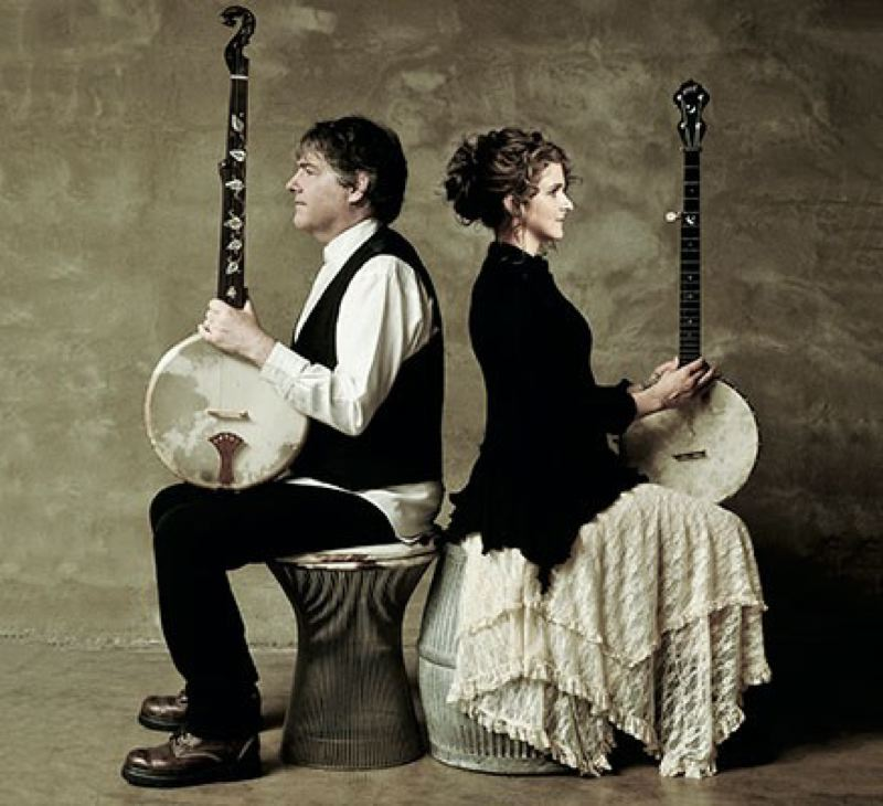 COURTESY: PORTLAND'5 - Bela Fleck and Abigail Washburn return to Portland. UPDATE: The show is sold out.