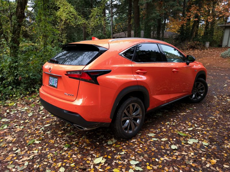 PORTLAND TRIBUNE: JIM REDDEN - The 2017 Lexus NX 200t F Sport is striking from every angle.