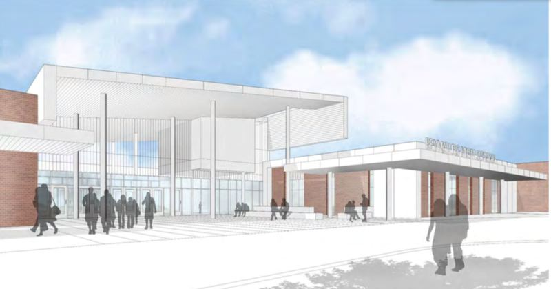CONTRIBUTED - Reynolds High School is getting more space and a fresh, modern look in its remodel.