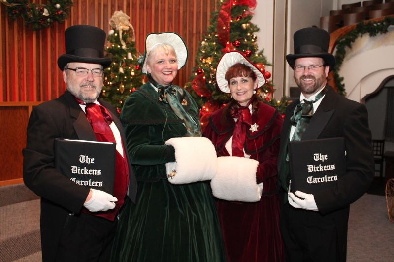 COURTESY PHOTO - The Dickens Carolers will sing at Jessie Mays Community Center in North Plains on Thursday, Dec. 7, as part of the North Plains Jingle celebration.