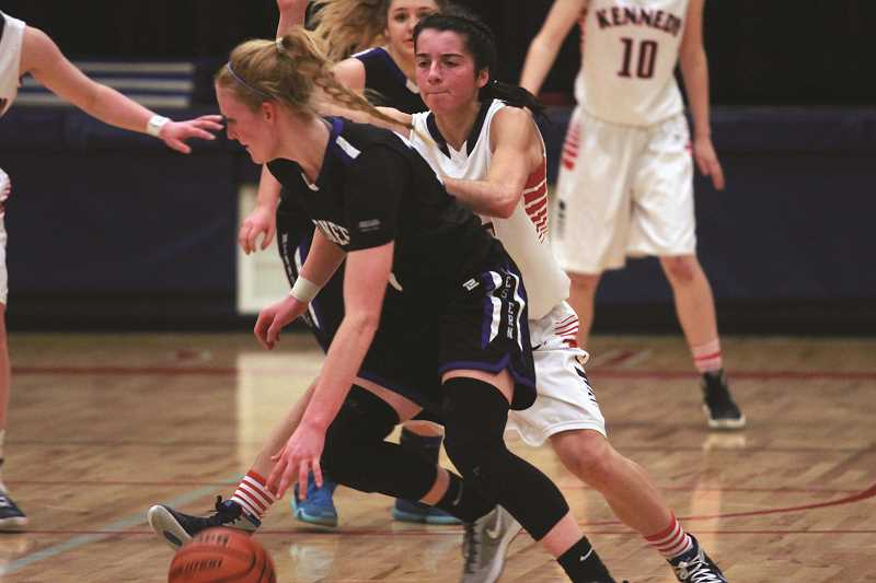 PHIL HAWKINS - Moving Jaeger to point guard allows First Team All-State guard Kaylin Cantu (below) to focus more of her energy on the defensive end, where she reigns as one of the most disruptive defensive players at the 2A level.