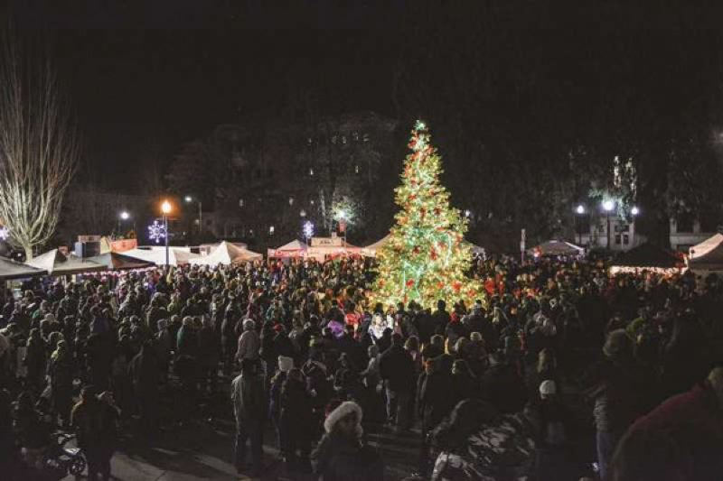 FILE PHOTO - Saturday's Hillsboro Holly Days begins and 1 p.m. and ends with the lighting of the tree at the Civic Center Plaza at 5:30 p.m.