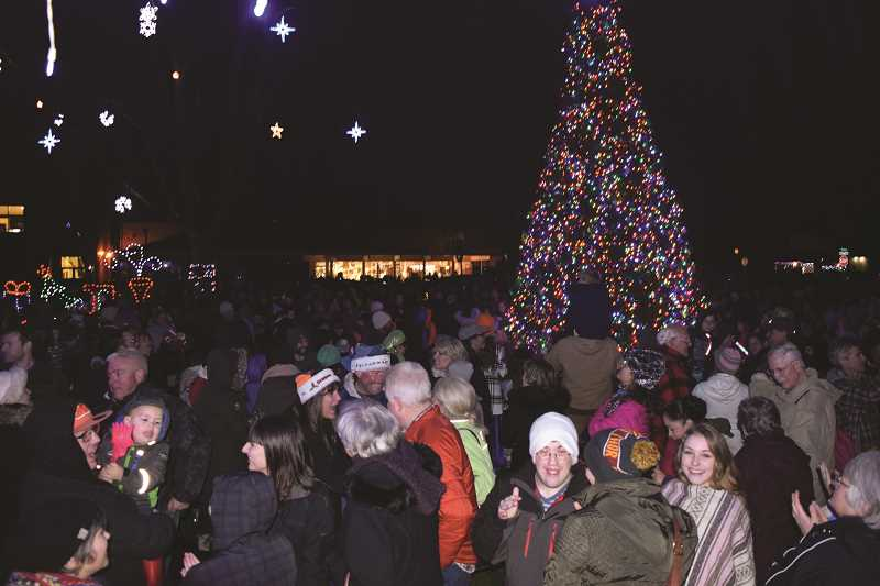 JOHN BAKER - Canby's Light Up The Night is this Friday, Dec. 1, with a parade and then the tree lighting after at about 6:30 p.m.