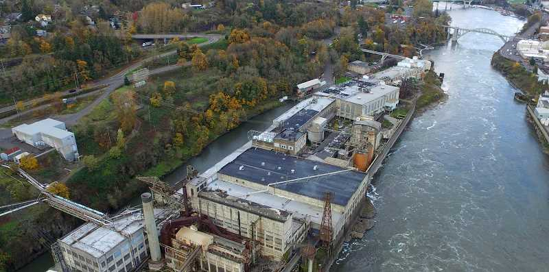PAMPLIN MEDIA: ALVARO FONTAN - According to the Oregon Department of Environmental Quality (DEQ), any necessary cleanup efforts at the West Linn Paper site will likely take place when a new property owner emerges.