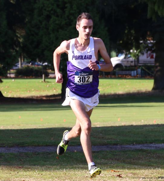 COURTESY: UNIVERSITY OF PORTLAND - Emmanuel Roudolff-Levisse was the leading runner on a packed Portland Pilots men's cross cross country team that finished a program-best second at the NCAA Division I championships.