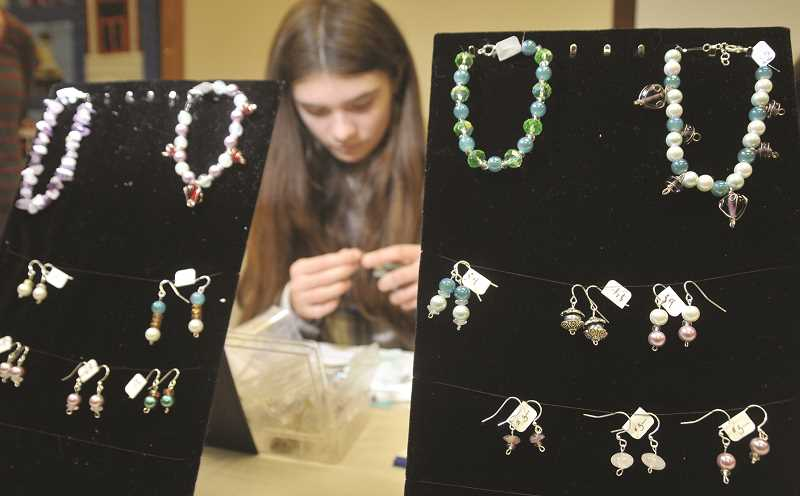 GRAPHIC FILE PHOTO - The 19th annual kids' craft sale features works from kindergarten through 12th grade students and is slated for 4:30 to 6:30 p.m. Saturday in the Newberg Public Library.