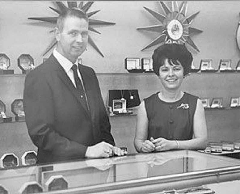 COURTESY PHOTO - Harley and Marian Piper owned the store from 1967 to 1995.