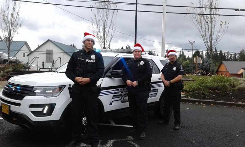 CONTRIBUTED PHOTO: SANDY POLICE DEPARTMENT - The Sandy Police Department's Reserve Police Officer unit is taking unwrapped toys for children ages 10 and older at the department office, 39850 Pleasant St., during business hours from 8 a.m. to 6 p.m. Monday through Thursday.