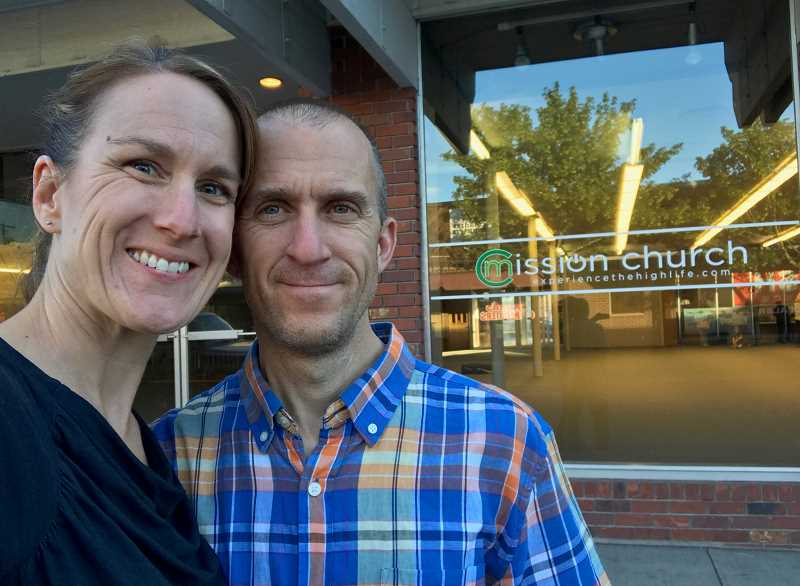 SUBMITTED PHOTO - Pastor Drew Roberts and his wife, Heather.