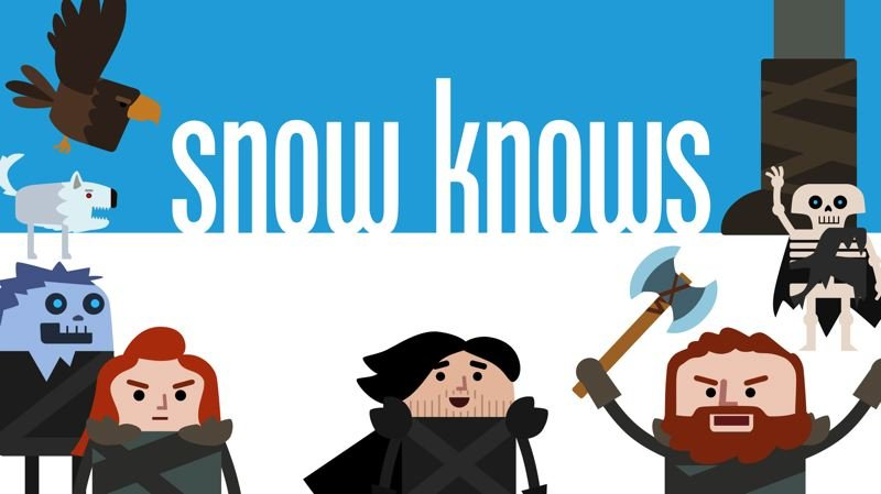 COURTESY: HINGE/TRAVEL OREGON - Scenes from Snow Knows, the studio's humorous animated series inspired by Game of Thrones.