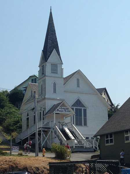 SUBMITTED PHOTO  - This church in Cathlamet is one of the charming sites to see when you visit the historic town.